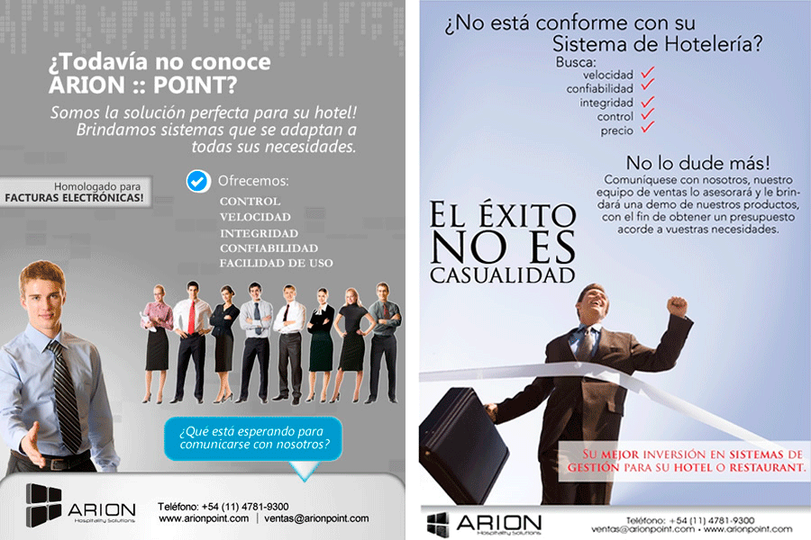 ARION – Newsletter Promocional