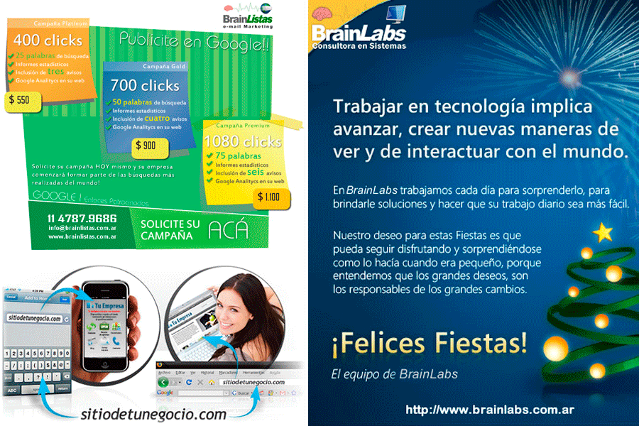 Brainlabs – Felices Fiestas
